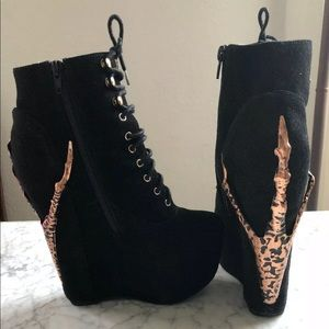Jeffrey Campbell Damsel Claw Booties